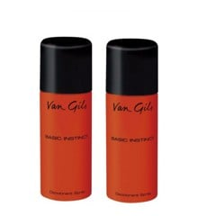 Van Gils - 2x Basic Instinct Deodorant Spray 150 ml