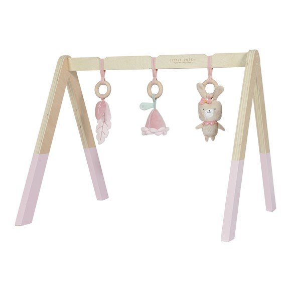 Little Dutch - Baby Gym with toys, Pink (LDW4439)