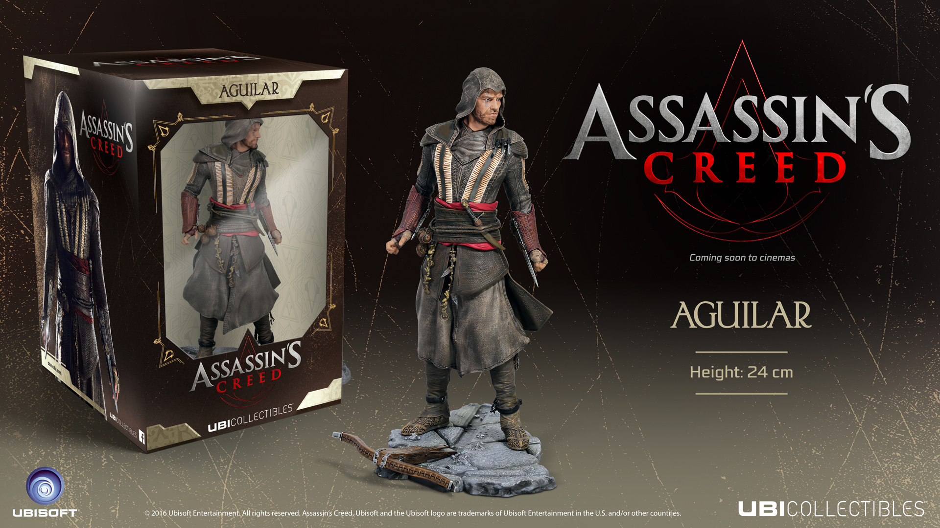 Buy Assassin S Creed Movie Aguilar 24cm Figurine