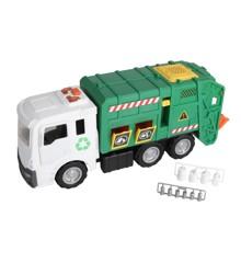 Motorshop - Kæmpe Skraldebil (52 cm)
