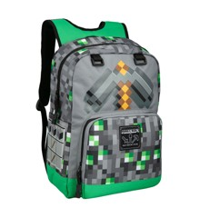 "Minecraft 17"" Emerald Survivalist Backpack"
