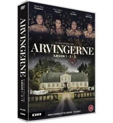 Arvingerne: Season I, II & III - DVD