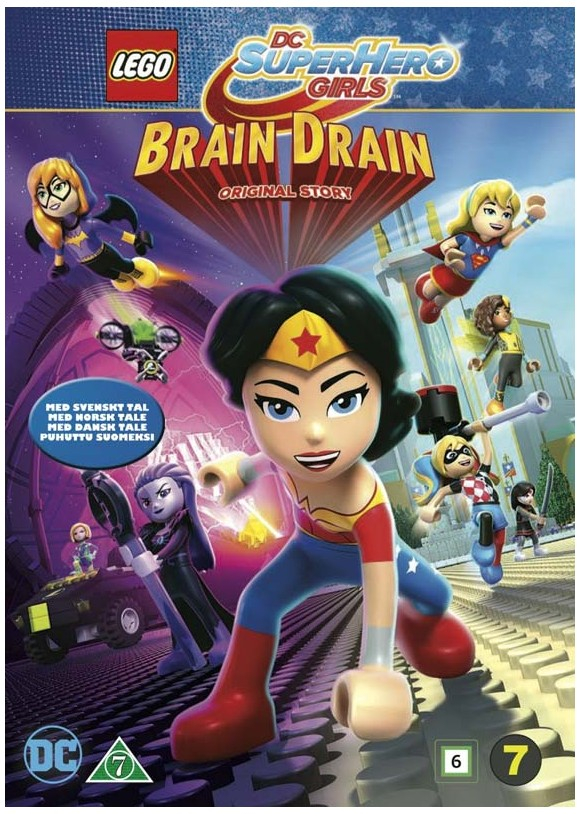DC Super Hero Girls: Brain Drain - DVD