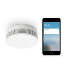 Netatmo - Smart Smoke Alarm 85dB Siren, Wi-fi, Bluetooth