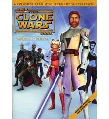 Star Wars - The Clone Wars - Saeson 1 vol 3 - DVD