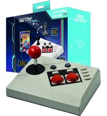 Steelplay Retro Line - Edge Joystick - NES Classic Mini + Cheat Code Book