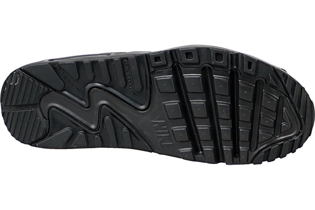 Buy Nike Air Max 90 Lea Gs 833412-001, Kids, Black, sneakers
