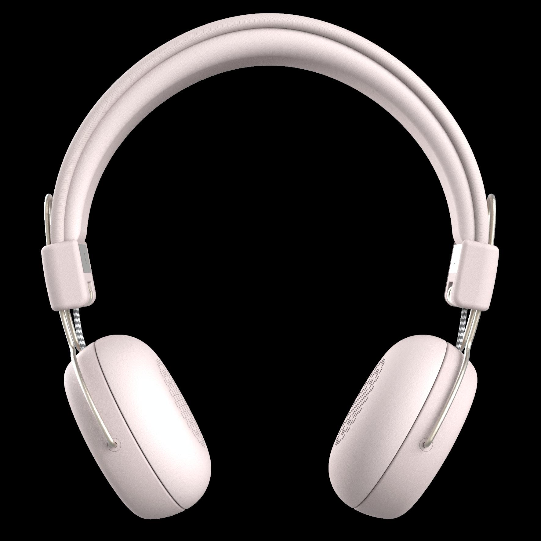 Billede af KreaFunk - aWEAR Høretelefoner - Støvet Pink/Pale Guld