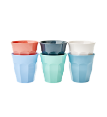 Rice - Melamine Cups 6 Pcs Small - Happy 21st