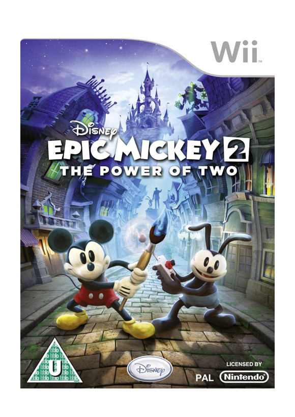 Disney Epic Mickey 2 The Power of Two Nintendo Wii
