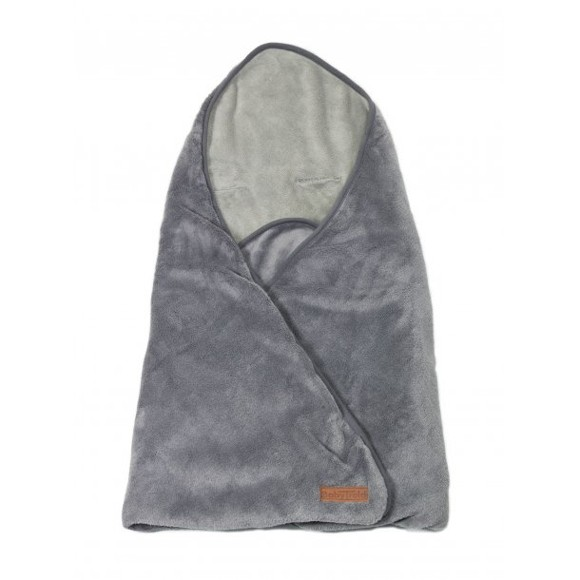 Babytrold - Fleece Carpet for Car Seat/Pushchair - Grey