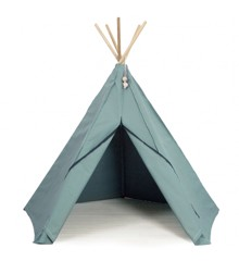 Roommate - Play Tent Hippie Tipi - Havgrå