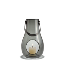 Holmegaard - Design With Light Lantern 25 cm - Smoke (4343535)