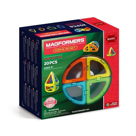 Magformers - Curve 20 sæt