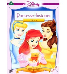 Disneys - Princess Stories 1 - A Gift From The Heart/Prinsesse Historier 1 - En Gave Fra Hjertet - DVD