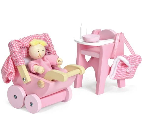 Le Toy Van - Dukkehus Puslesæt med babydukke