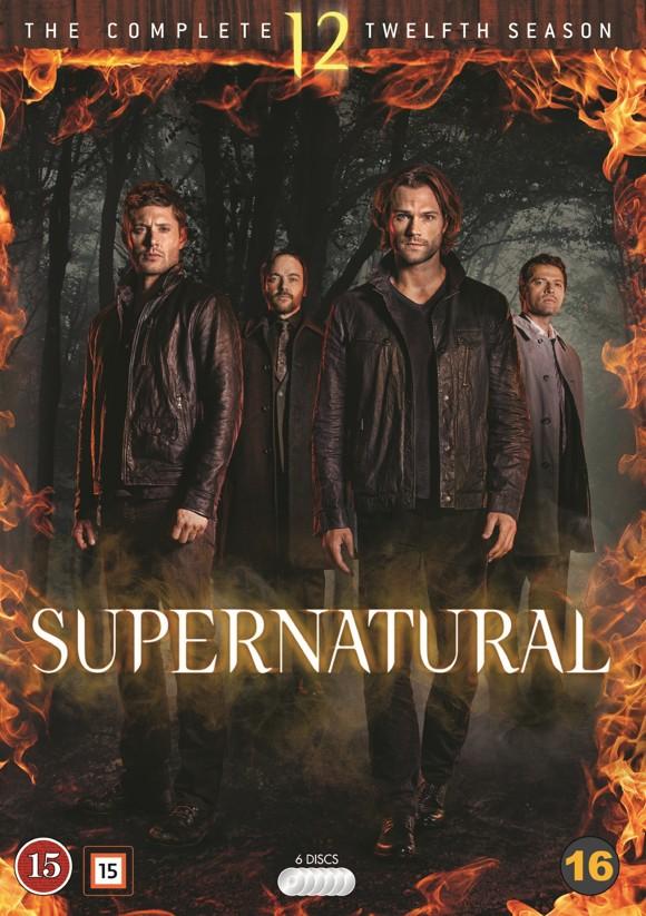 Supernatural: Sæson 12 - DVD