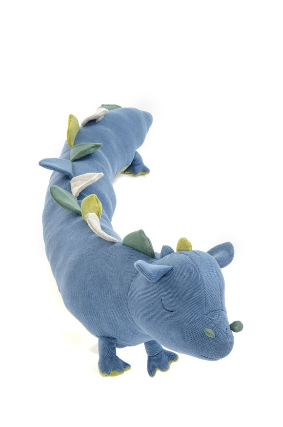 Smallstuff - Bed Animal Bumper - Dragon