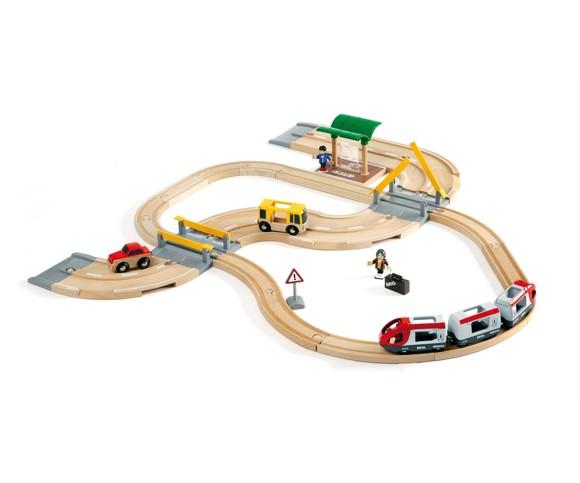 BRIO - Rail & Road Travel Set (33209)
