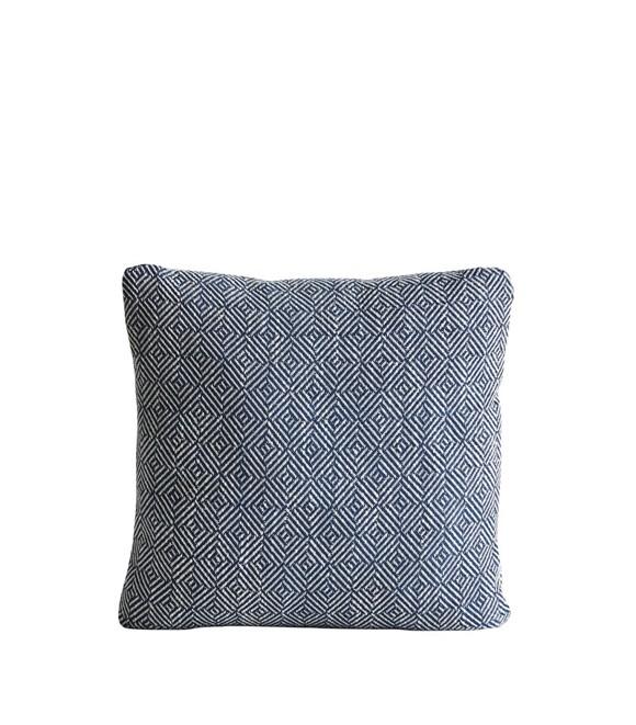 Woud - Diamond Cushion - Navy Blue (160500)