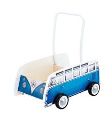 Hape - Wolkseagen Bus Walker - Blå