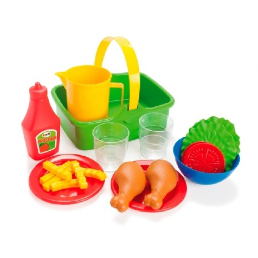 Dantoy - Picnic Chicken & salad set (4680)
