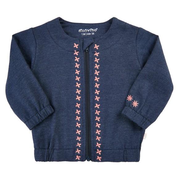 MINYMO - Cardigan w. Embroidery