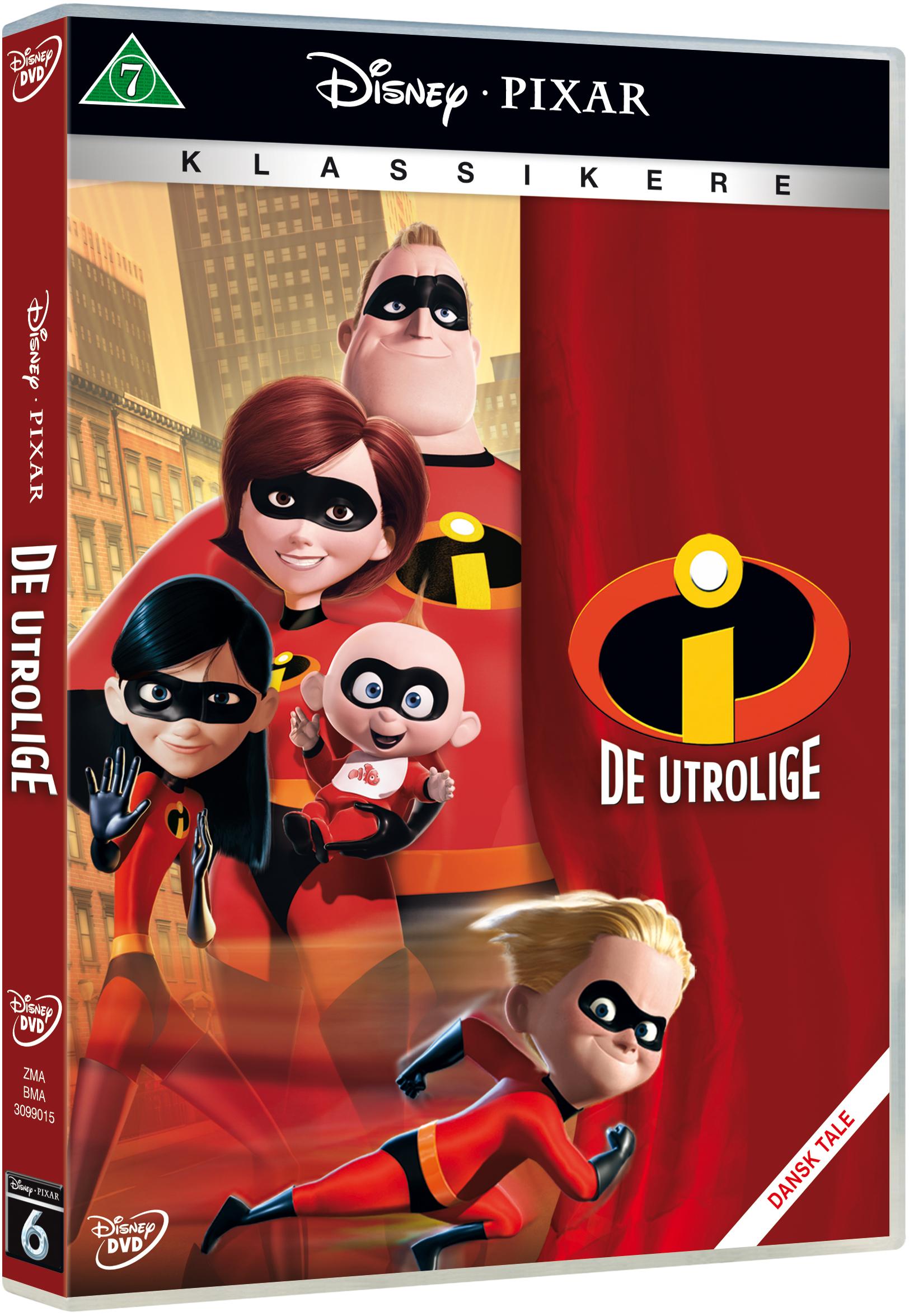 De Utrolige Pixar #6