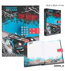 Monster Cars - Diary w/Code & Sound (0410949)