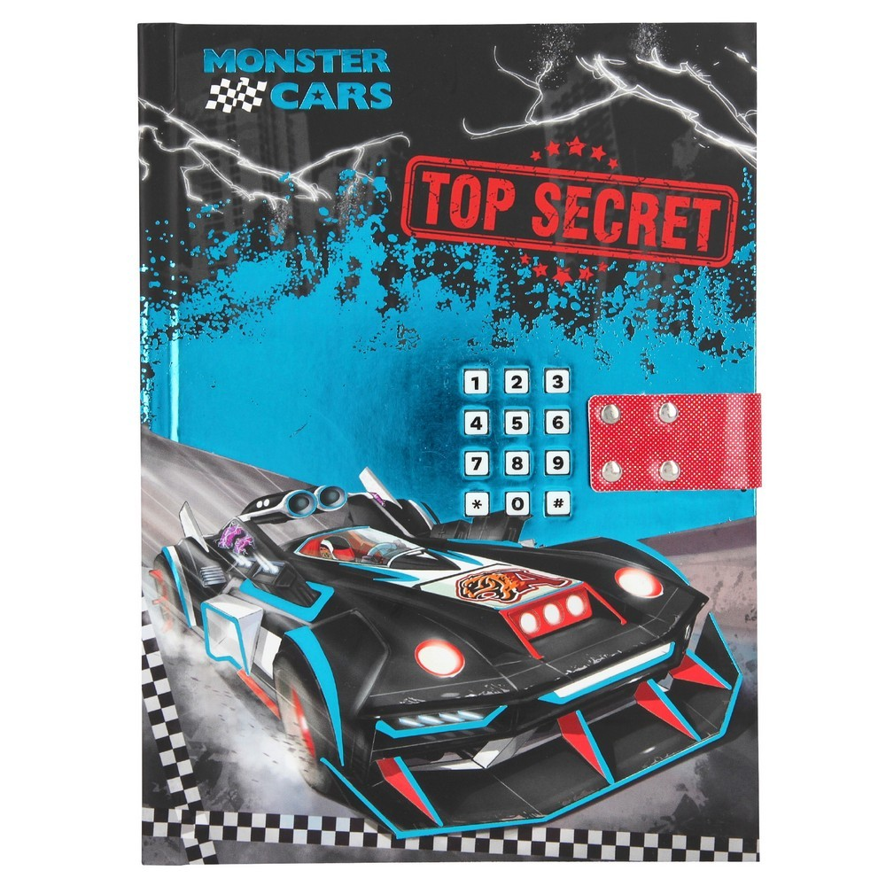 Monster Cars Diary w Code Sound 0410949