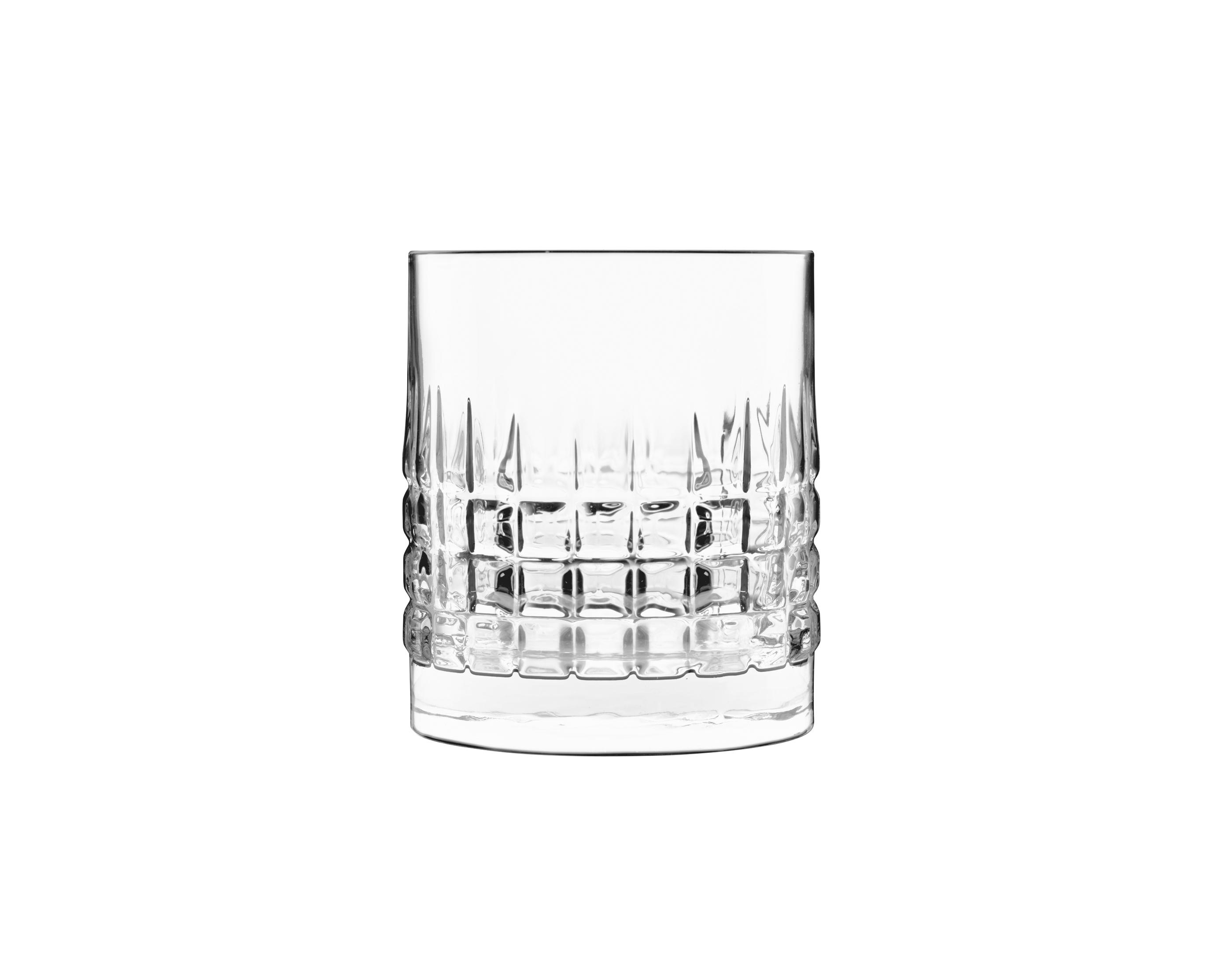 Luigi Bormioli - Mixology Charme Whisky Lowball Glass 38 cl - 4 pack (12328-02)