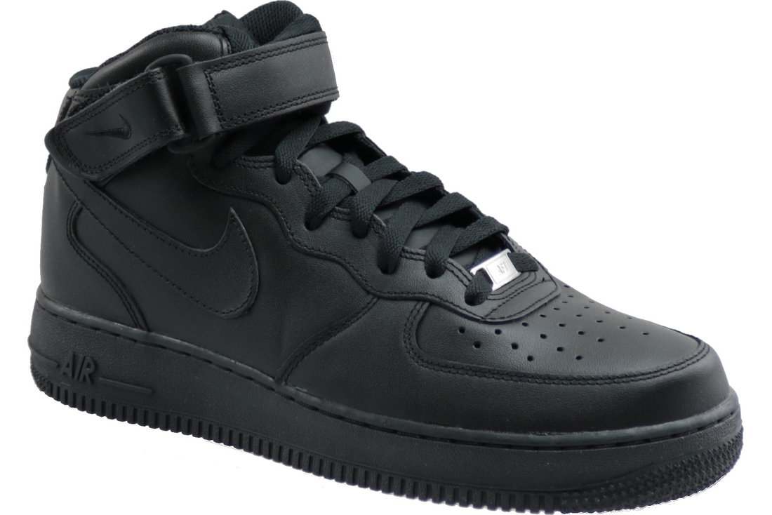 Kaufe Nike Air Force 1 Mid 07 315123 001, Mens, Black, sneakers