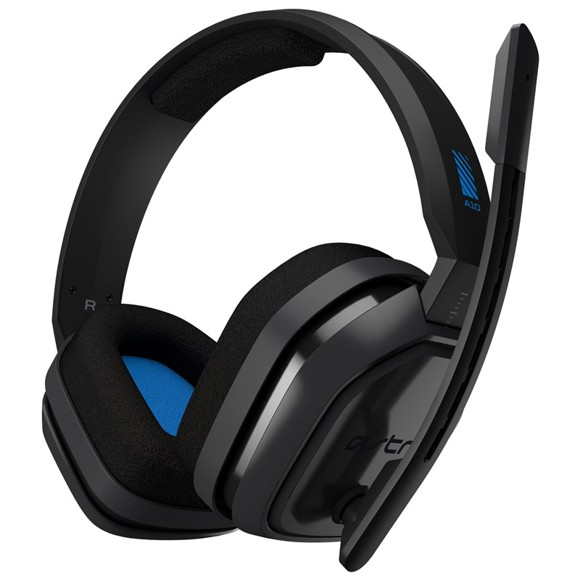 Astro - A10 Gaming Headset PS4+PC Grå/Blå