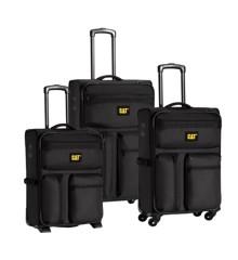 Caterpillar - Cube Combat - Nested 3-pack Trolley set - Black (83272-01)