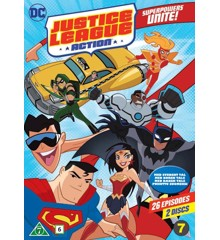 Justice League Action: Season 1, Part 1 (2-disc) - DVD