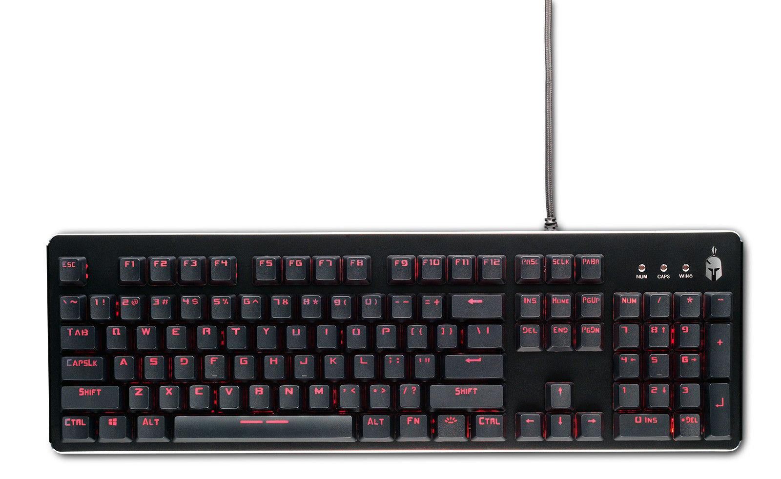Spartan Gear Minotaur Wired Mechanical Membrane Gaming Keyboard (EU)