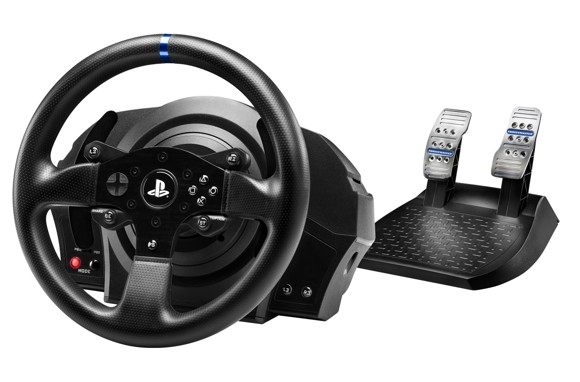 Thrustmaster - T300RS Force Feedback Racing Wheel - Official Sony Licence
