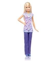Barbie Reality - Sygeplejerske Karriere Dukke (DVF57)