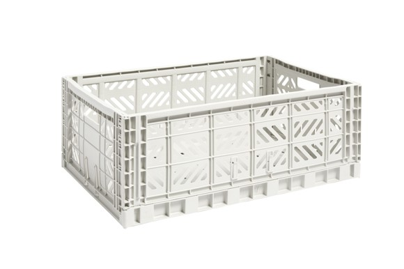 HAY - Colour Crate Large - Light Grey  (507681)