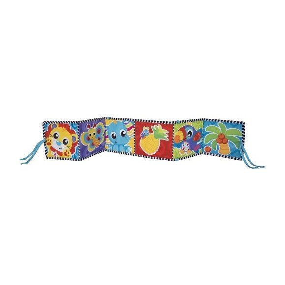 Playgro - Convertible Tummy Time Mirror and Book (10186971)