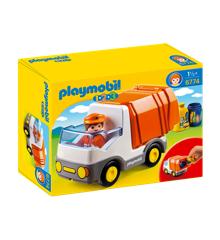 Playmobil - 1.2.3 - Recycling Truck (6774)