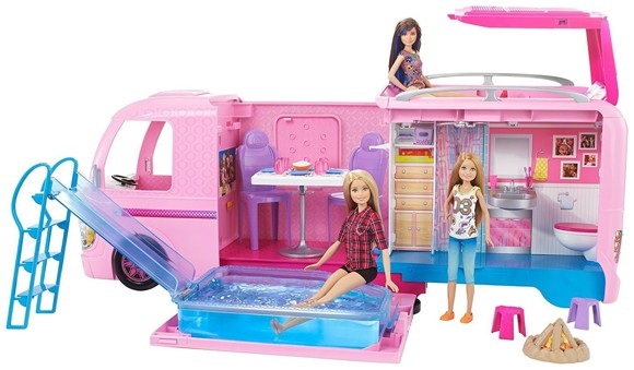 Barbie - Camping Legesæt