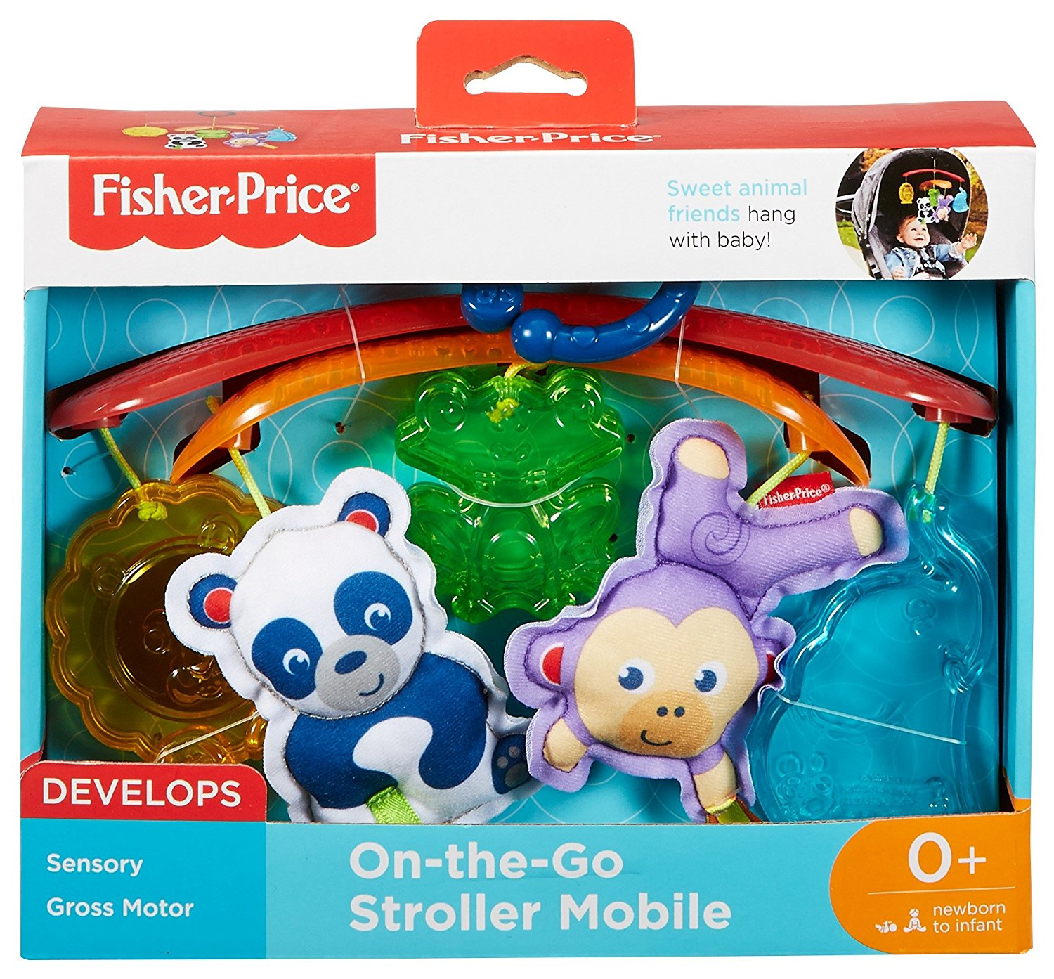 Fisher-price On-the-Go Stroller Mobile Toy DYW54
