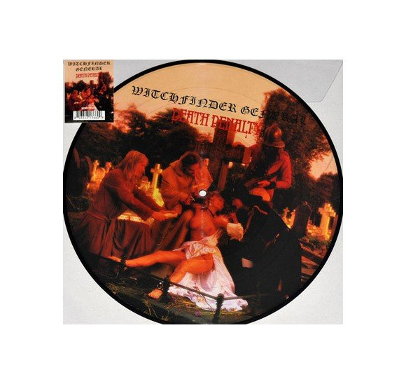 Witchfinder General ‎– Death Penalty - RSD 2017 Edition - Vinyl