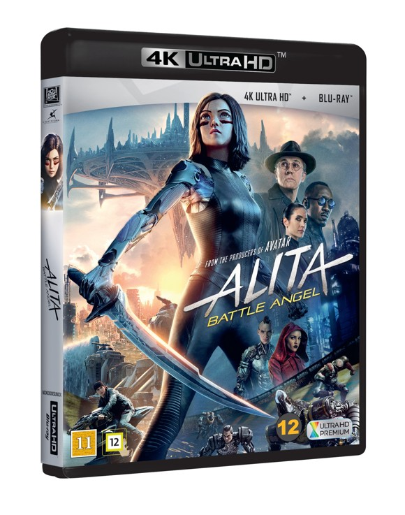 Alita: Battle Angel - 4K Blu ray