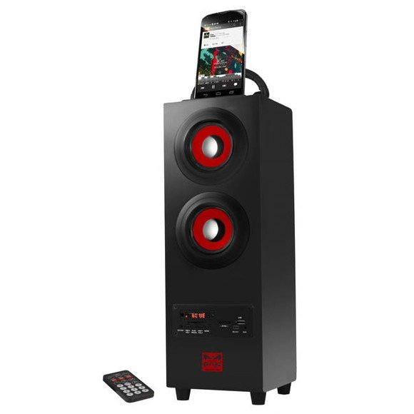 Psyc Torre Portable Bluetooth Speaker Boom Box Tower