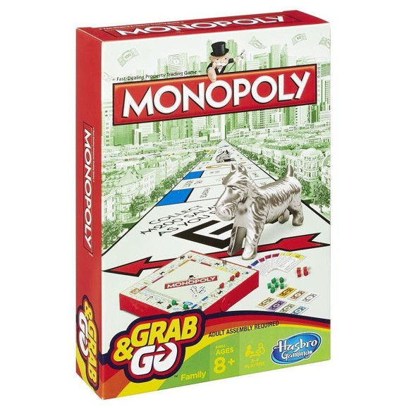 Hasbro Gaming - Rejse Monopoly (29188179)