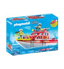 Playmobil - Brandvæsnets redningsbåd (70147)