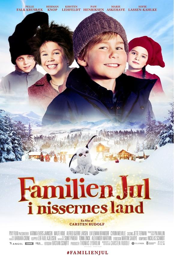 Familien jul: I nissernes land - DVD