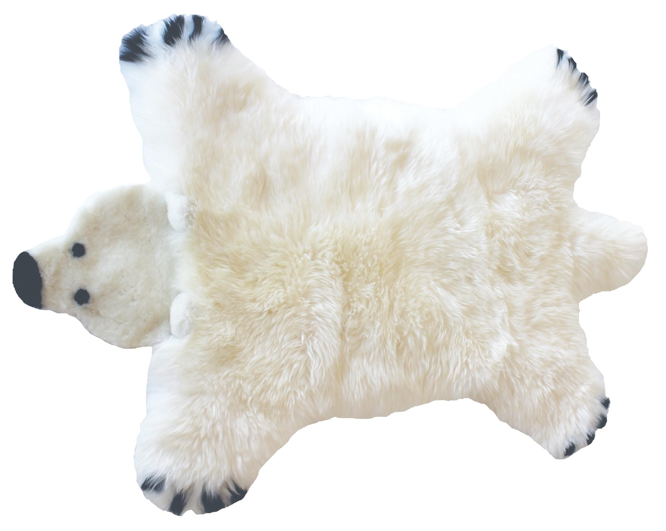Bilde av Baby Dan - Bear Lambskin 60x97 Cm - Polar Bear